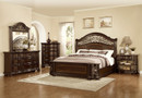 MFB366 -   ALLISON BROWN SOLID WOOD ADULT BED COLLECTION