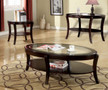 FA4488C - Finley Espresso 3 Pc. Coffee Table Set