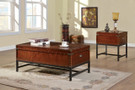 FA4110C - Milbank Cherry 3 Pc. Coffee Table