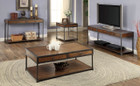 FA4228C - Hecura I Antique Oak 3 Pc. Coffee Table