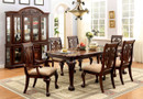 FA3185T - Petersburg I Cherry Solid Wood 7 PC. Dining Table