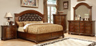 FA7735- Grandom Cherry Solid Wood Adult Bed