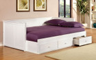 FA1927 - Walford Solid Wood Full Size Day Bed Comes in Black Or White