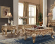 HD998G  - Amare Gold With Silver Accents Coffee Table
