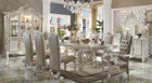 AC61130 - VERSAILLES BONE WHITE 9 PIECE DINING SET
