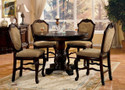AC64082C - Chateau De Ville 5 Piece Traditional Counter Height Dining Set