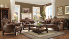 AC52100 - Versailles Light Brown Sofa and Love Seat Set