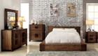 FA7628 - Janeiro  Rustic Natural Tone Adult Bed