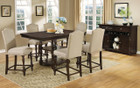 FA3133PT - Silverton 7 Piece Counter Height Dining Set