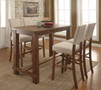 FA3324BT - Sania Natural Tone 5 pc. Counter Height Dining Set