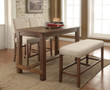 FA3324pt - Sania Natural Tone 4 pc. Counter Height Dining Set