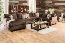 FA6111sec - Wessington Premium Fabric Sectional