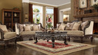 Hd914   Renado Formal Wood Trim Sofa And Love Seat