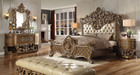 P1 8018 Enzo Formal Bedroom Set With Elegant Carvings