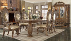 P1 8018 Enzo 9 Piece Formal Dining Room Set With Intricate Carvings