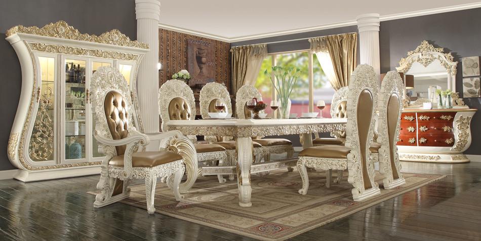 Hd8019 Vitale 9 Piece Formal Dining Room Set