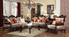 MFsf6788 Patel Chenille Formal Sofa And Love Seat
