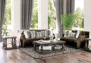 fa3073 Cornelia Plush Sofa And Love Seat
