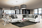FA2263 Betria Luxurious Off White Sectional