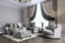 FA5143GY Bonaventura Gray Sectional With Pillows