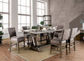 FA3385PT - Amaris 7 Piece Counter Height Wood Grain Dining Set