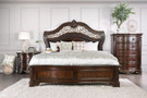 FA7311 - ALIMA TRADITIONAL STYLE BEDROOM GROUP W/ GENUINE MARBLE TOPS