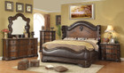 FA7859 - Armon Traditional Style Bedroom Group W/ Genuine Marble Tops