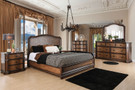 FA7831 - Evagelina Traditional Style Bedroom Group W/ Laser Cut Details