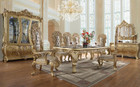HD1801 - Adriano Palatial Formal 9 Piece Dining Set