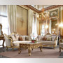 P1 91630 -  Kaali Goddess Formal Sofa, Love Seat, Coffee Table and 2 End Tables