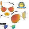 Mirrored Aviator Sunglasses Wholesale - Style #30113 Spring Hinge