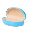 Sunglasses Cases w/Matching Microfiber Cleaning Cloth 7059 | Light Blue Case & Cloth