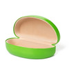 Sunglasses Cases w/Matching Microfiber Cleaning Cloth 7059 | Lime Green Case & Cloth