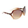 Vintage DE Sunglasses DE700 Duotone Brown & Amber Frame Color