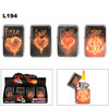 "Assorted ""Love"" Lighters L194"