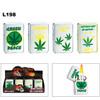L198 Assorted Pot Leaf Lighters