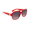 Wholesale Unisex Sunglasses 6051 Red Frame