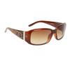 Women's Designer Sunglasses Brown Frame