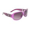 Leopard Print DE™ Sunglasses DE5007 Lavender Frame