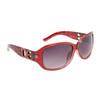Leopard Print DE™ Sunglasses DE5007 Red Frame