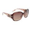 DE5003 Designer Sunglasses Brown Frame