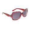 DE5019 Fashion Sunglasses Red Frame