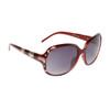 Rhinestone Sunglasses DI6002 Maroon Frame