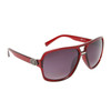 Unisex Aviator Sunglasses DE5014 Red Frame