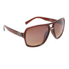 Unisex Aviator Sunglasses DE5014 Brown Frame