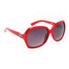 Women's Sunglasses DE5002 Red Frame