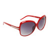 Women's Fashion Sunglasses 6038 Red Frame