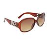 NEW DE™ Fashion Sunglasses DE5000 Transparent Brown Frame