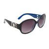 NEW DE™ Fashion Sunglasses DE5000 Black & Blue Frame
