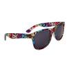 Bulk California Classics Sunglasses # 8015 Rainbow Leopard Print
